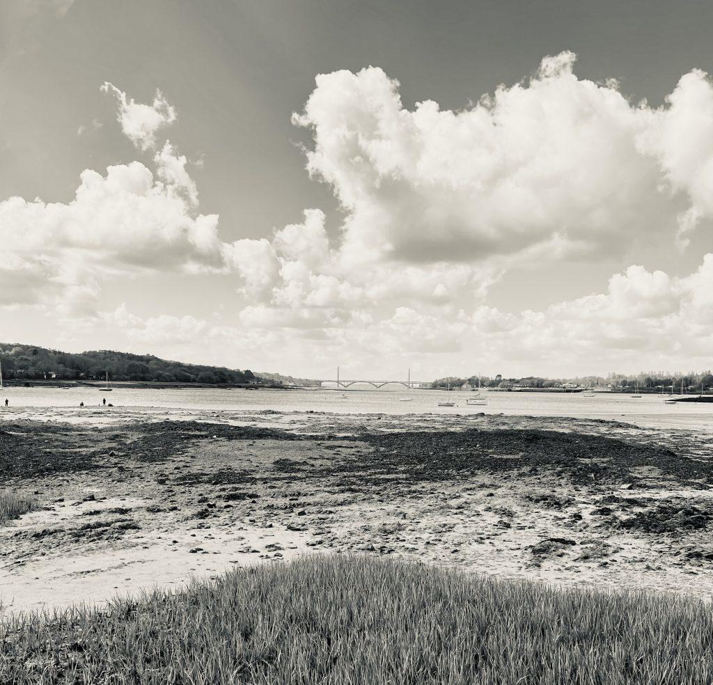 Photographie depuis la plage du Douvez